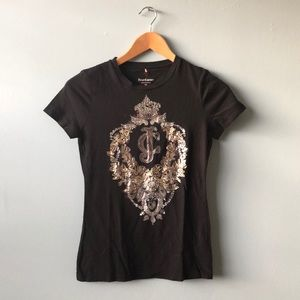 Glitzed Juicy Couture  T shirt